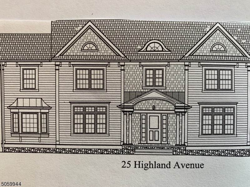 Single Family Homes voor Verkoop op 25 Highland Avenue Chatham, New Jersey 07928 Verenigde Staten