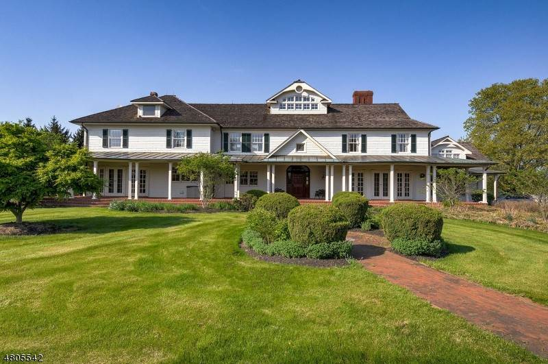Single Family Homes for Sale at 39 FELMLEY Road Tewksbury Township, New Jersey 08889 United States