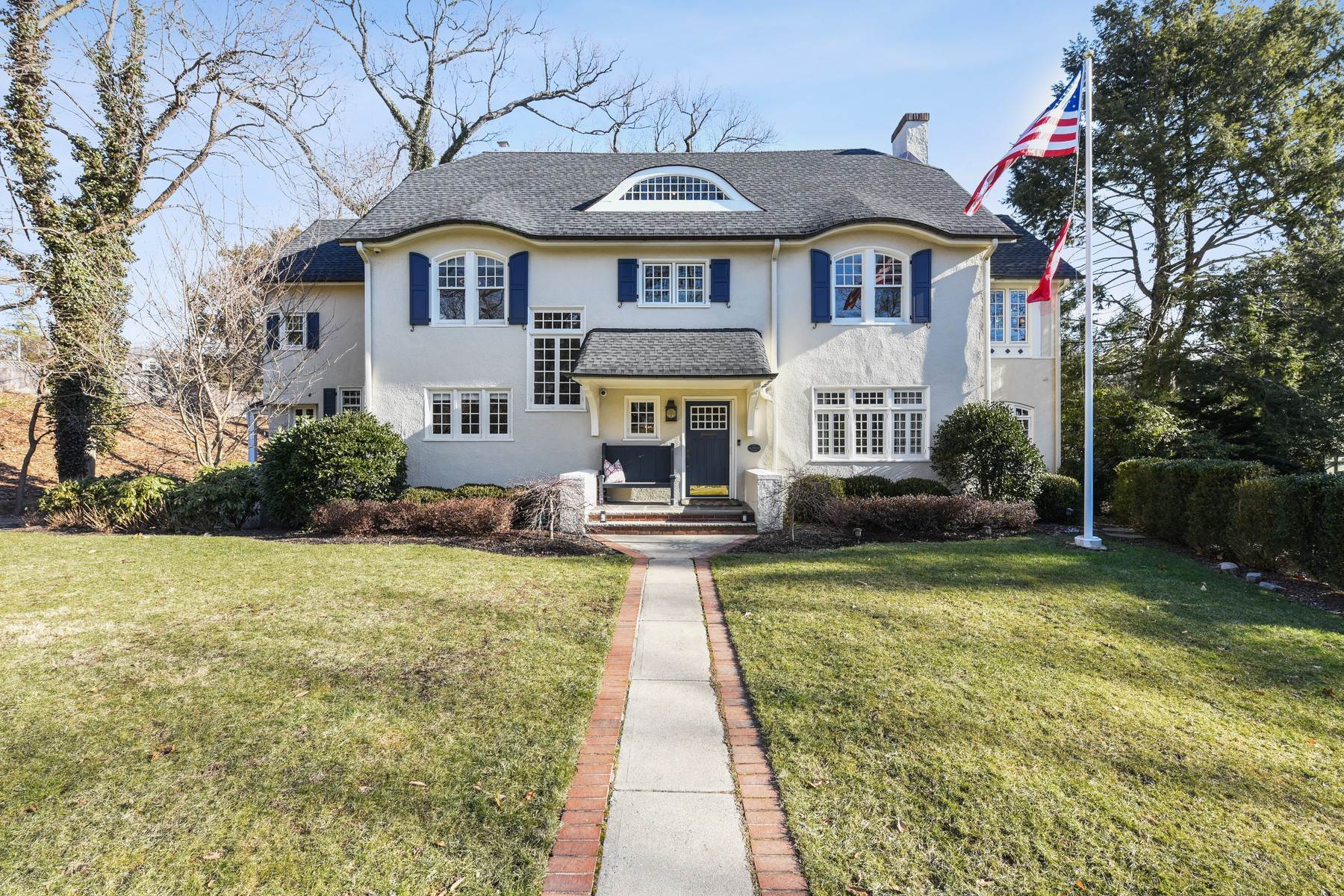 Single Family Homes for Sale at Classic Northside Colonial 23 Fernwood Road Summit, New Jersey 07901 United States