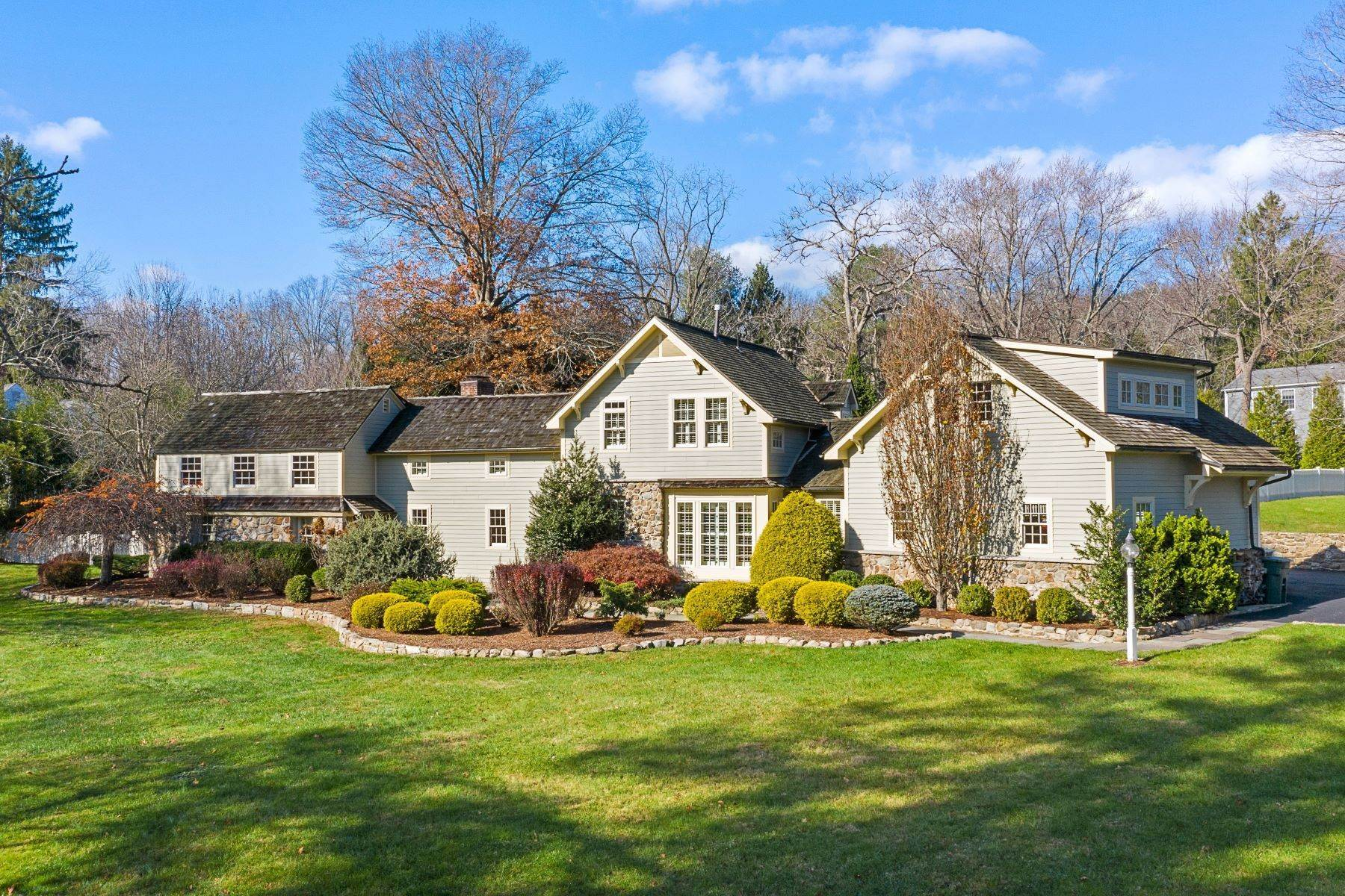 Single Family Homes for Sale at Rebuilt and Renovated Brookside Residence 28 E Main Street Mendham, New Jersey 07945 United States