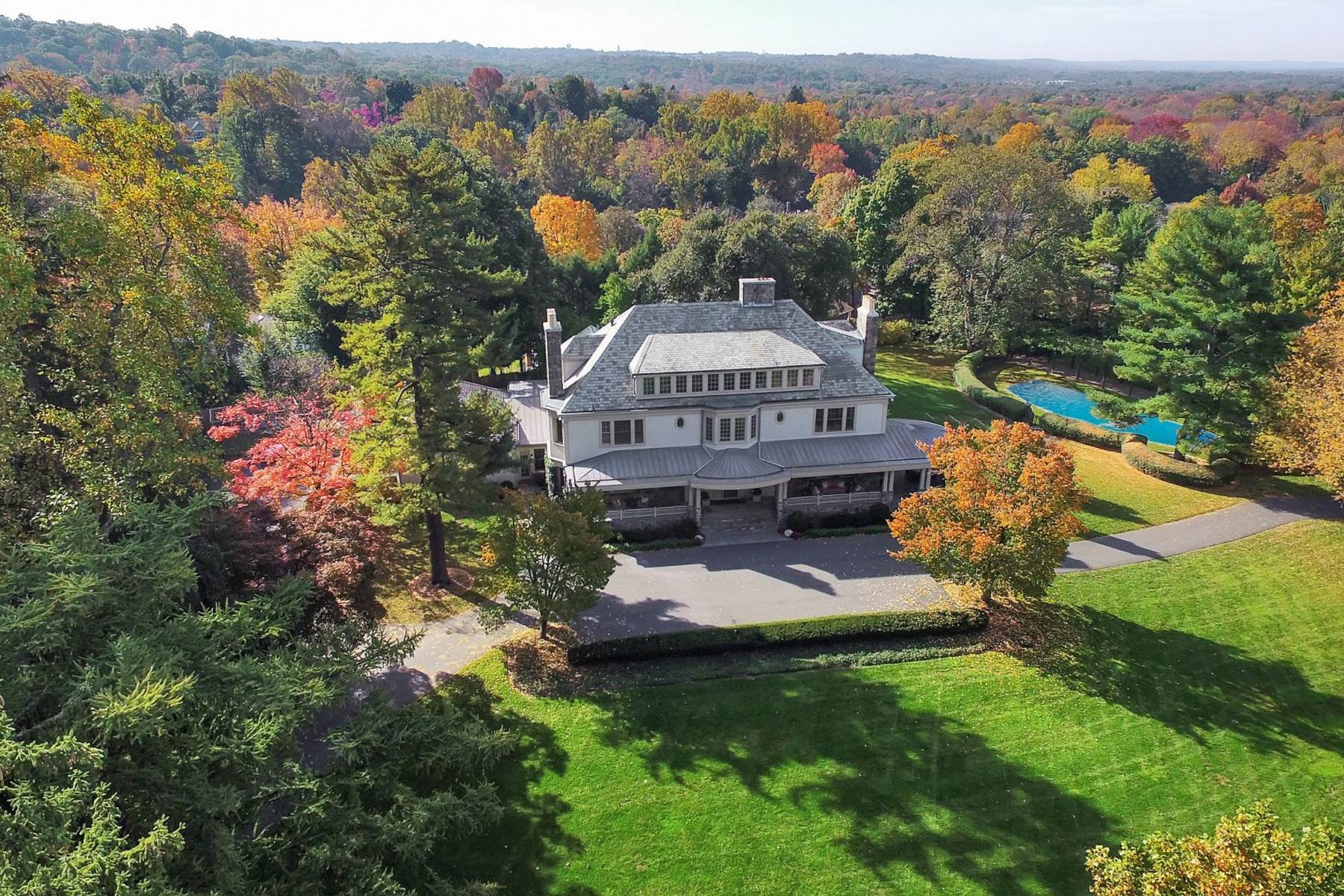 Single Family Homes for Sale at Estate Finisterre 40 Beekman Terrace Summit, New Jersey 07901 United States