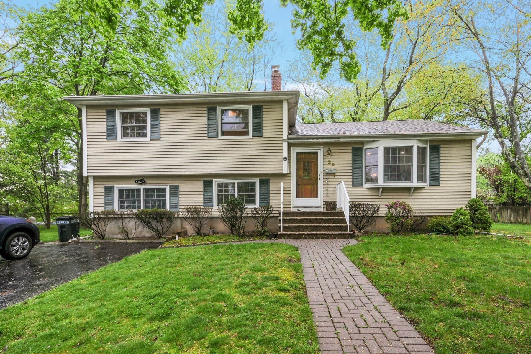 Single Family Homes for Sale at Renovated Split in Closter 23 Asmus Rd Closter, New Jersey 07624 United States