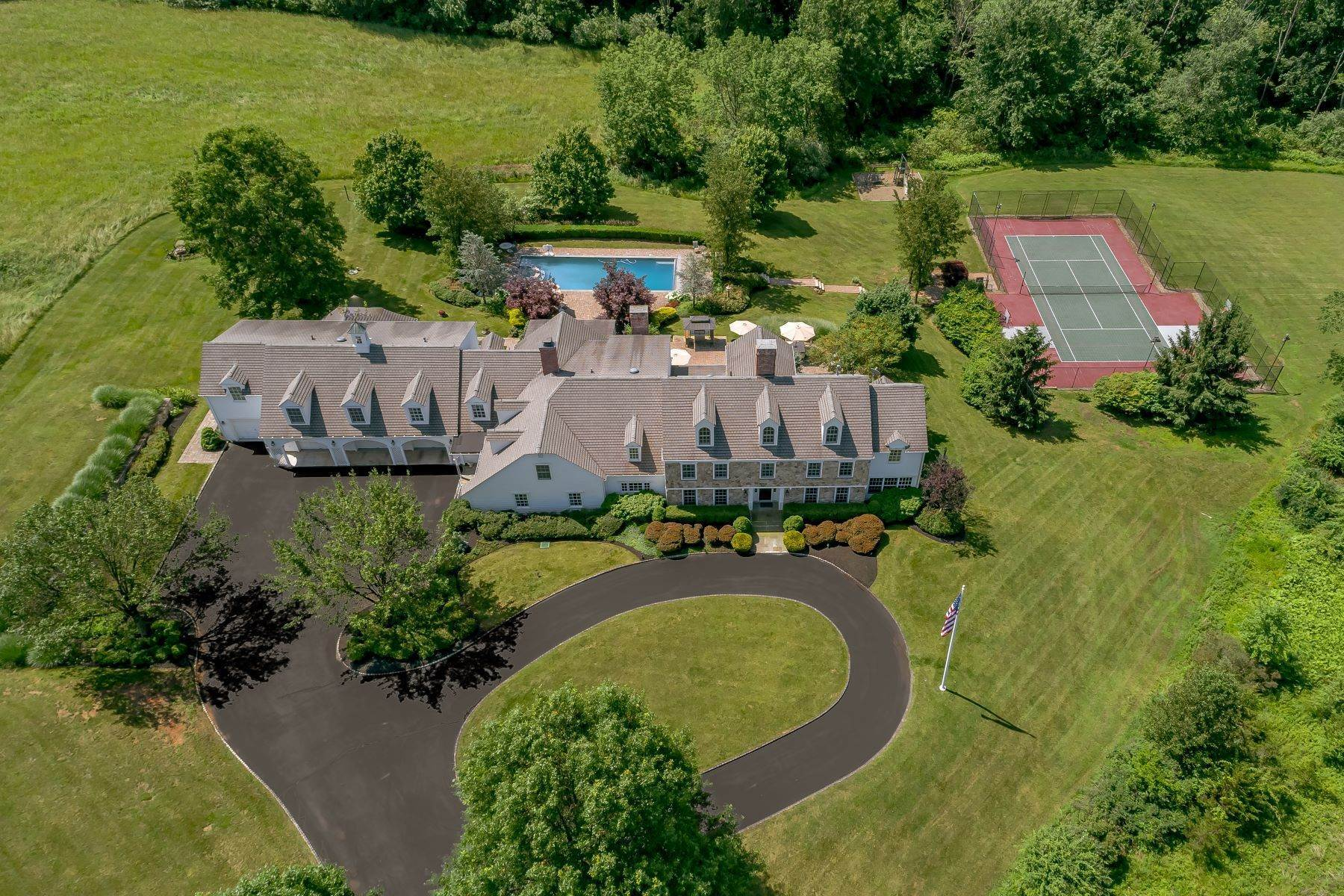 Single Family Homes per Vendita alle ore 'Oakland Farm' 520 Pottersville Road Bedminster, New Jersey 07921 Stati Uniti