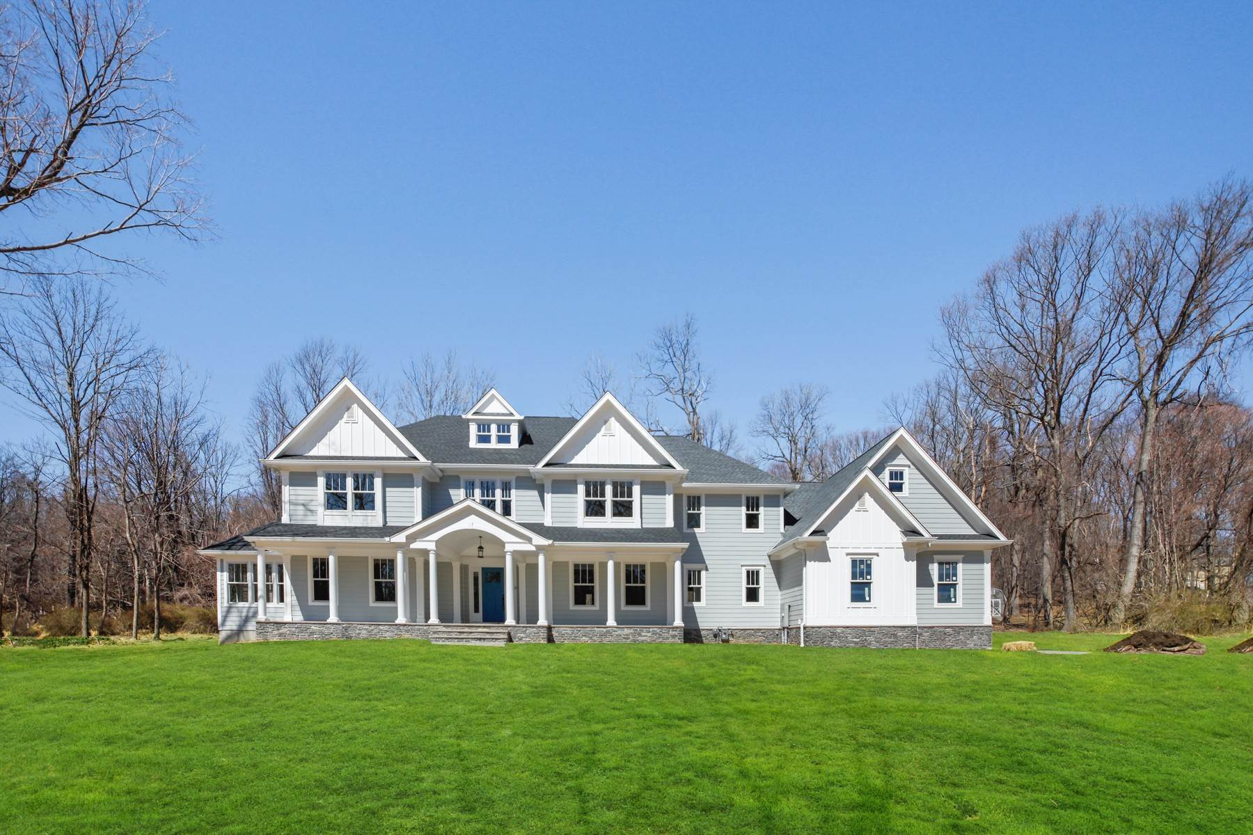 Single Family Homes per Vendita alle ore Gorgeous Custom Estate 43 Mount Pleasant Road Mendham, New Jersey 07945 Stati Uniti