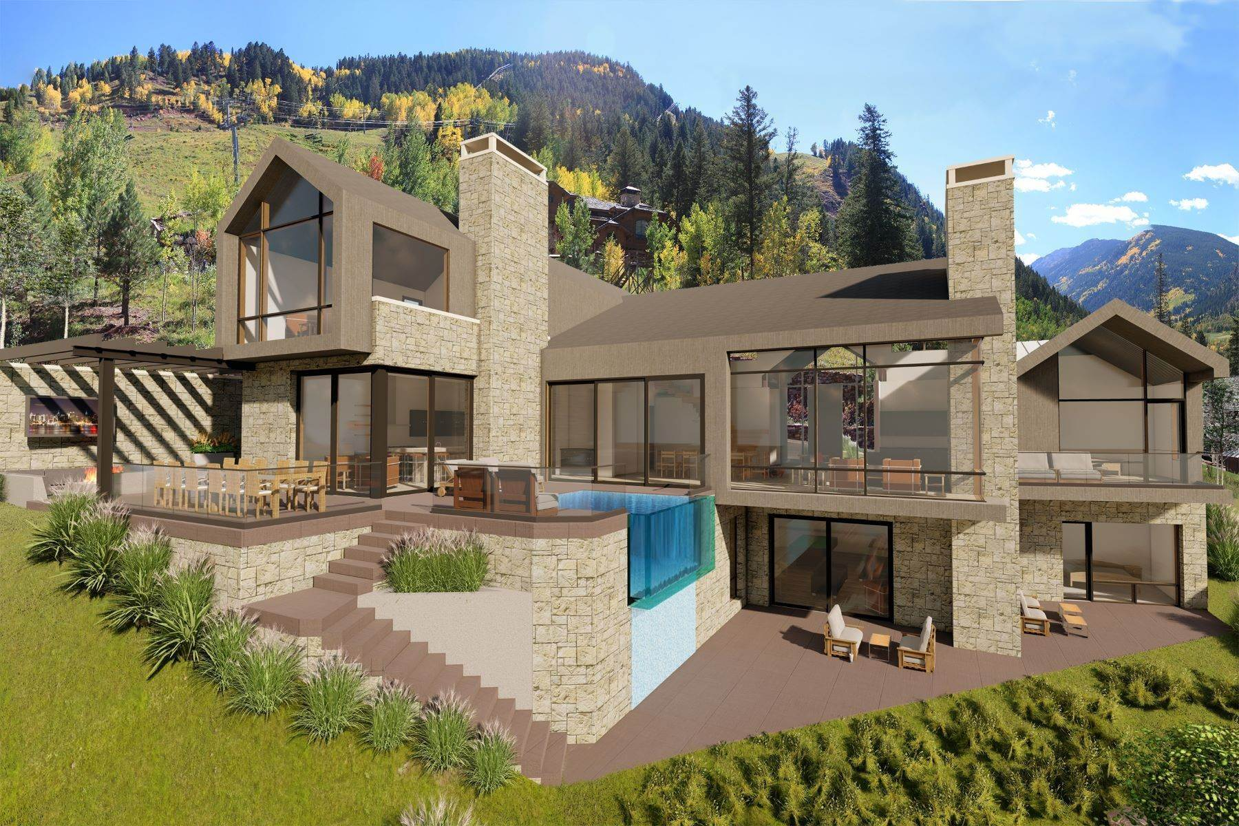 Terrain pour l Vente à Luxury Building Site in Aspen Highlands TBD Exhibition Lane Lot 3 Aspen, Colorado 81623 États-Unis