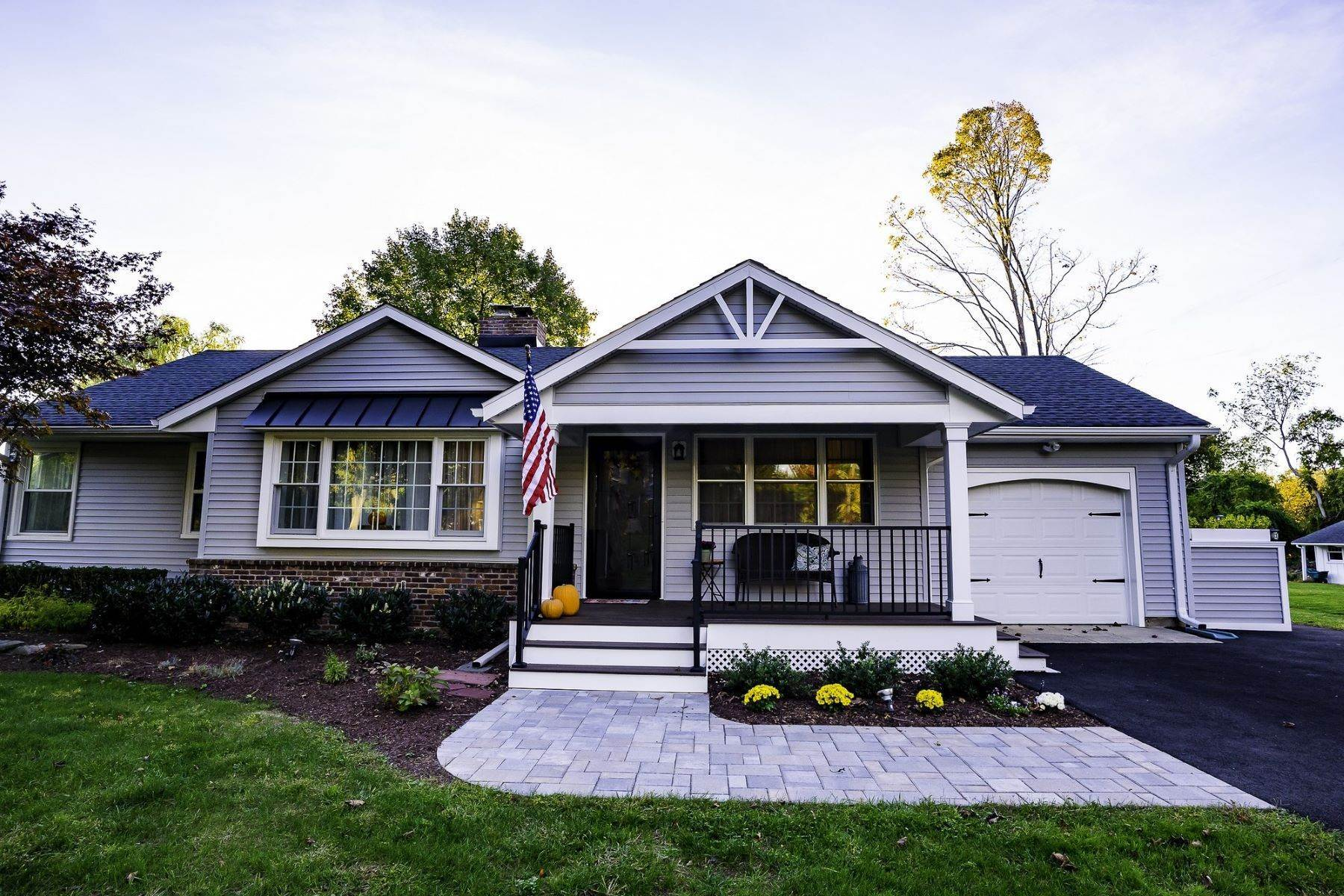 Single Family Homes for Sale at Charming Renovated Ranch 15 Rankin Avenue Basking Ridge, New Jersey 07920 United States