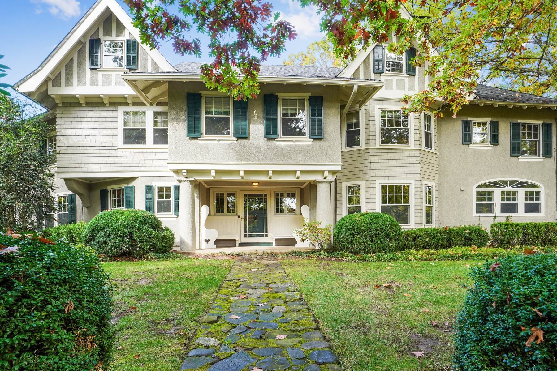 Single Family Homes for Sale at Private Northside Estate 226 Hobart Avenue Summit, New Jersey 07901 United States